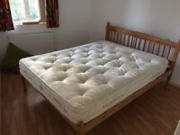 Pick up Saturday 9am only. Free double bed with futon mattress
