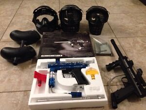 Paint ball equipment