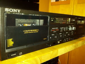 Sony TC-WR520 Double Cassette Deck