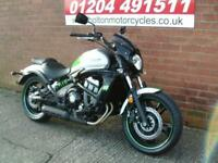 NEW PRE REGISTERED KAWASAKI EN650EHF CAFE VULCAN MOTORCYCLE