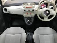 2015 64 FIAT 500 0.9 TWINAIR LOUNGE DUALOGIC 3D AUTO 85 BHP