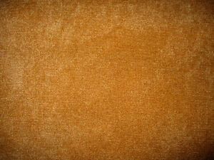 brown/gold chenille fabric