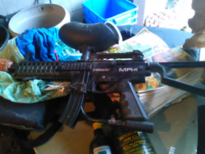 Spyder mr4 paintball gun