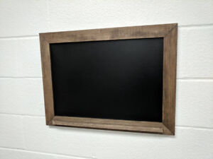 Rustic ChalkBoard with Ledge - Rustic Decor