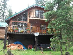 Titled Lake front Cottage