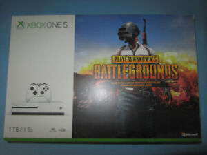 Brand New/ Sealed- Xbox One S 1TB PUBG Bundle