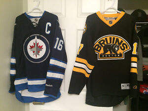 Authentic Lucic, Ladd and Giordano Jerseys