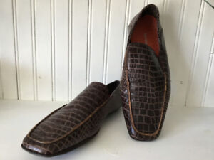 Men's brown loafers by Spring