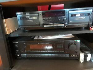 Sony Audio Video Control Center + Speakers