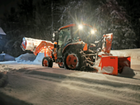 On call snow removal