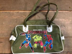 Marvel Comics Superheroes Bag Spider-Man Retro Vintage $20