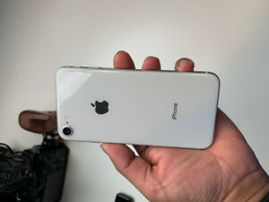 iPhone 8 White with box and Kate Spade case