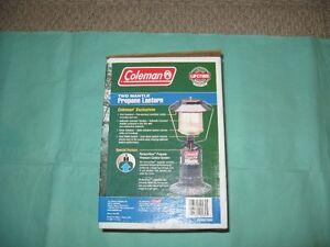 Coleman - two(2) mantle propane lantern