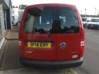 2014 Volkswagen CADDY C20 TDI STARTLINE VAN *F/S/H* Manual Small Van