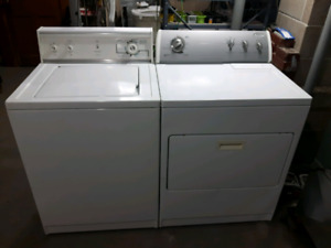 Good working washer and dryer