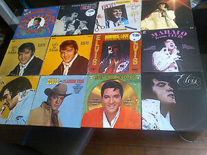 ELVIS PRESLEY VINYL LP COLLECTION SET 5 - 12 TITLES FANS ONLY!!!