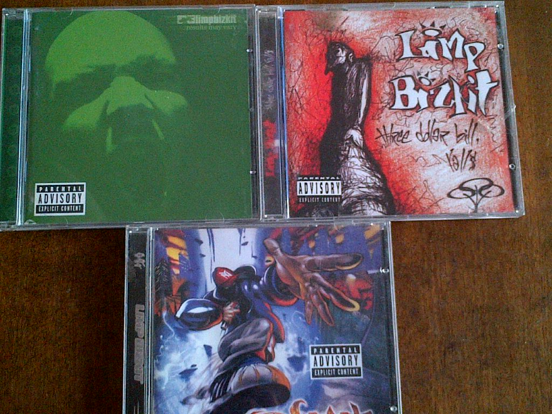 3 Limp Bizkit CDs R250 negotiable for all three