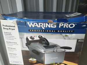 Waring Pro Professional Deep Fryer brand new reg$179 now sale$85