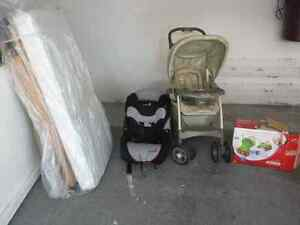 Crib, stroller and more. All you need :)