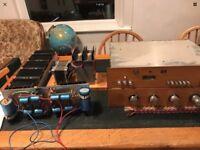 Vintage Hand Built Amplifier Electronics