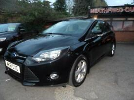 11 (61) FORD FOCUS 1.6 ZETEC TDCI 5DR ....ONLY £20 ROAD TAX. ONE OWNER