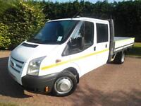 2013 Ford Transit T350 2.2TDCi 125PS LWB DOUBLE CAB DROPSIDE