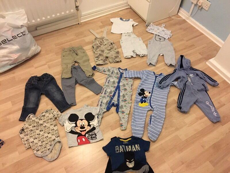 Boys clothes 6-9m & 9-12m
