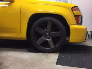 """Custom machined 20"""" DUB wheels Kitchener / Waterloo Kitchener Area image 3"""