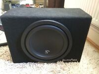 "Inphase 12"" 1400w car subwoofer amplifier sub amp stereo"