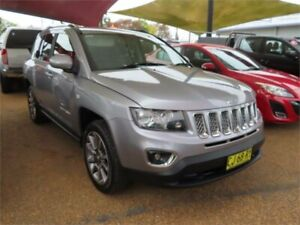 2014 Jeep Compass MK MY15 Limited Silver 6 Speed Sports Automatic Wagon Minchinbury Blacktown Area Preview