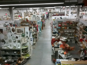 Canada's largest antique mall 1000 booths full