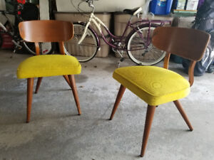 MCM 1960s accent chairs (2)