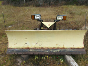 "Heavy Duty Commercial  Solid 90""  Fischer Snow Plow"