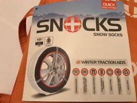 SNOW TYRE SOCKS
