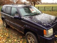 1997 Jeep Grand Cherokee, 4x4, Limited (REDUCED!!!!!)
