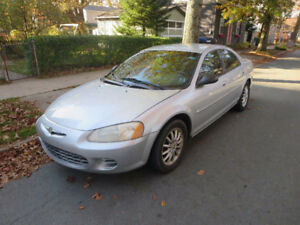 2003 Chrysler Sebring with only 109,000 k on it for sale