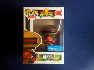 Power Rangers Alpha 5 Funko POP! Wal-Mart Exclusive, BNIB