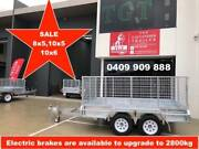 10x6 FULLY WELDED HOT DIP GALVANISED TRAILER, NEW WHEELS Burwood Whitehorse Area Preview