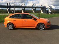 07 Plate Orange Ford Focus ST 3