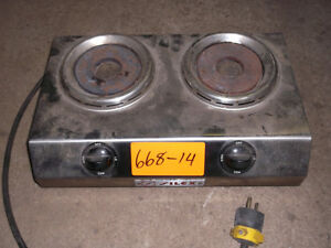 Hot Plate – Electric (2 Burner),  #668-14