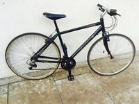 Black hybrid bike * bargain * lllhh