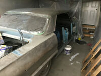 1964 Chev Impala Running Project and Tools for sale