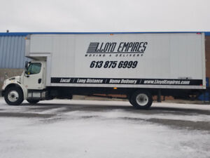 Ottawa Movers - Lloyd Empires Moving & Delivery