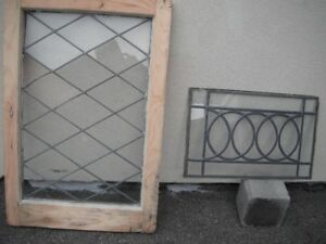 Nice leaded glass inserts