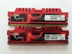 DDR3 -1600 G-SKILL RIPJAW 8GB 1.50V