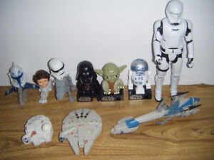 Star Wars Collectible Toys ..Truro..