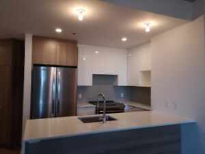Furnished new 3.5 condo with garage in ville saint-laurent