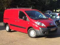 2009 Peugeot Expert 1.6HDi 90 L1 H1 ( 2.86t ) Red only 96k Miles SUPERB NO VAT