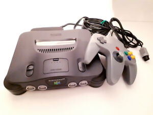 Classic Nintendo 64 (N64) System With NEW Controller - Works
