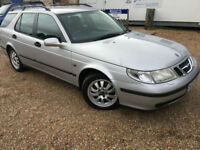 2006 '55' Saab 9-5 2.2 TiD Auto Estate. Diesel. Automatic. Family car. Px Swap